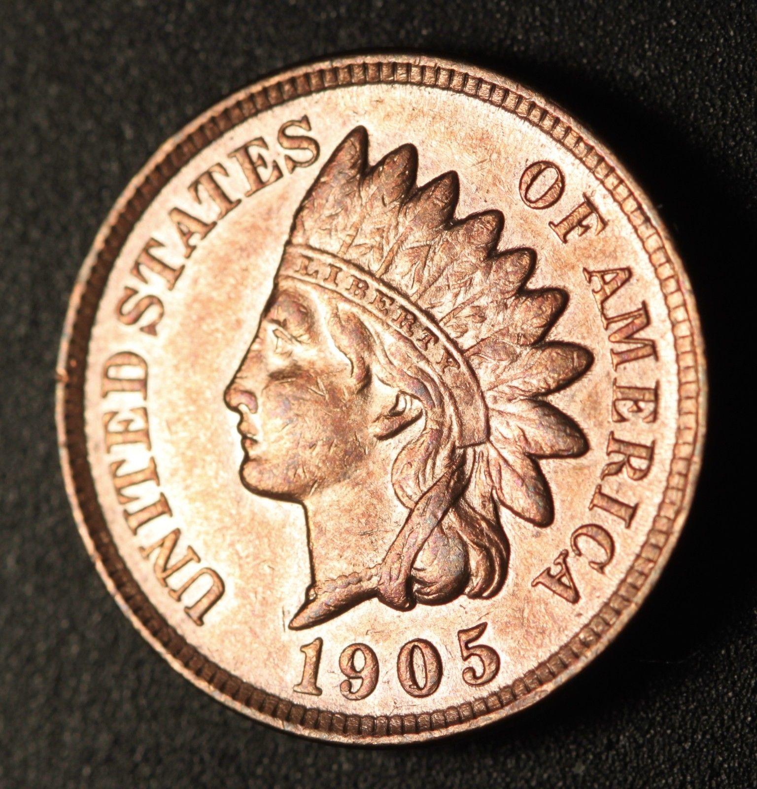 1905 RPD-002 - Indian Head Penny - Photo by Ed Nathanson