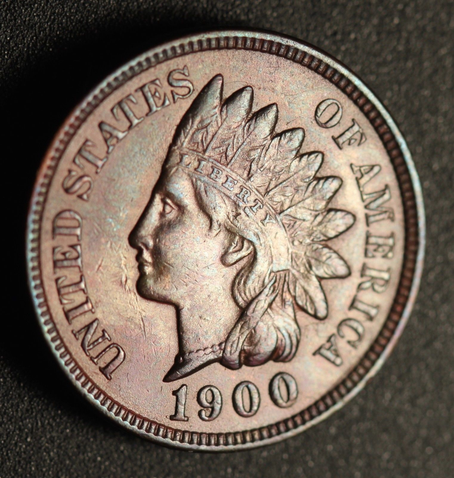 1900 RPD-019 - Indian Head Penny - Photo by Ed Nathanson