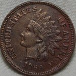 Counterfeit 1869 Indian Cent
