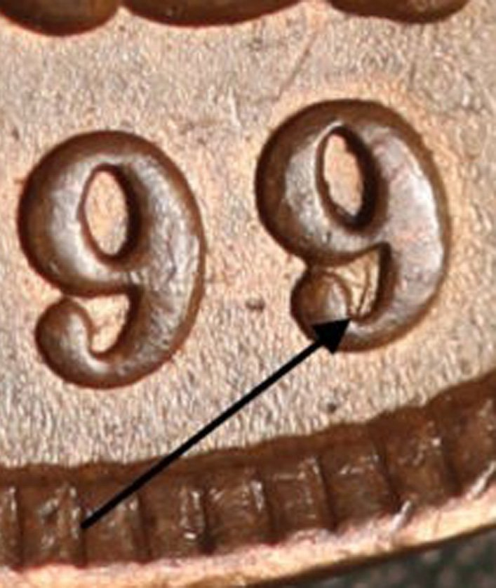 1899 RPD-033 - Indian Head Penny - Photo by Ed Nathanson