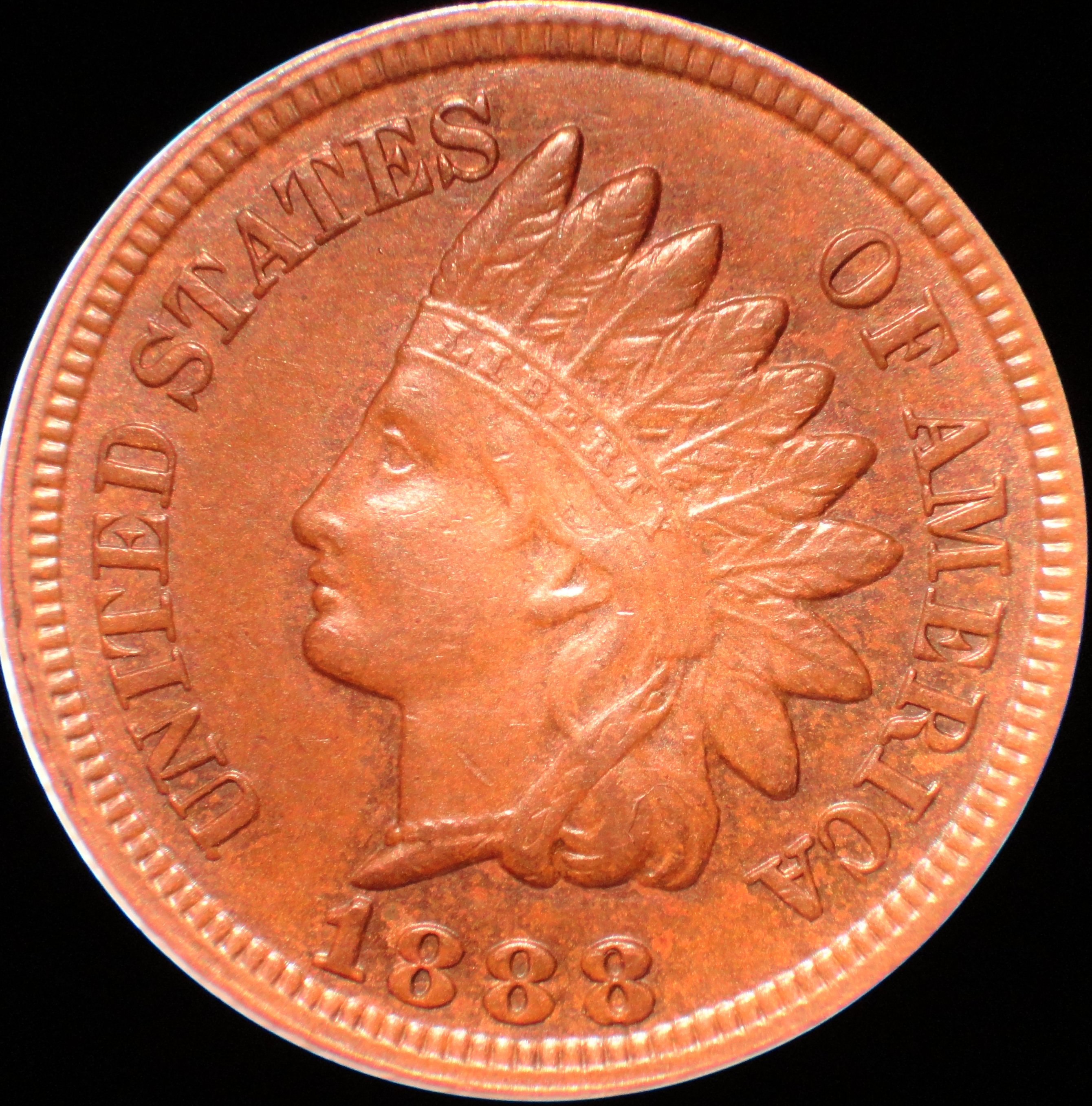 1888 RPD-011 Indian Head Cent
