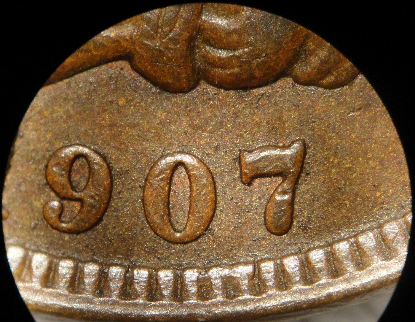 1907 MPD-011 - Indian Head Penny