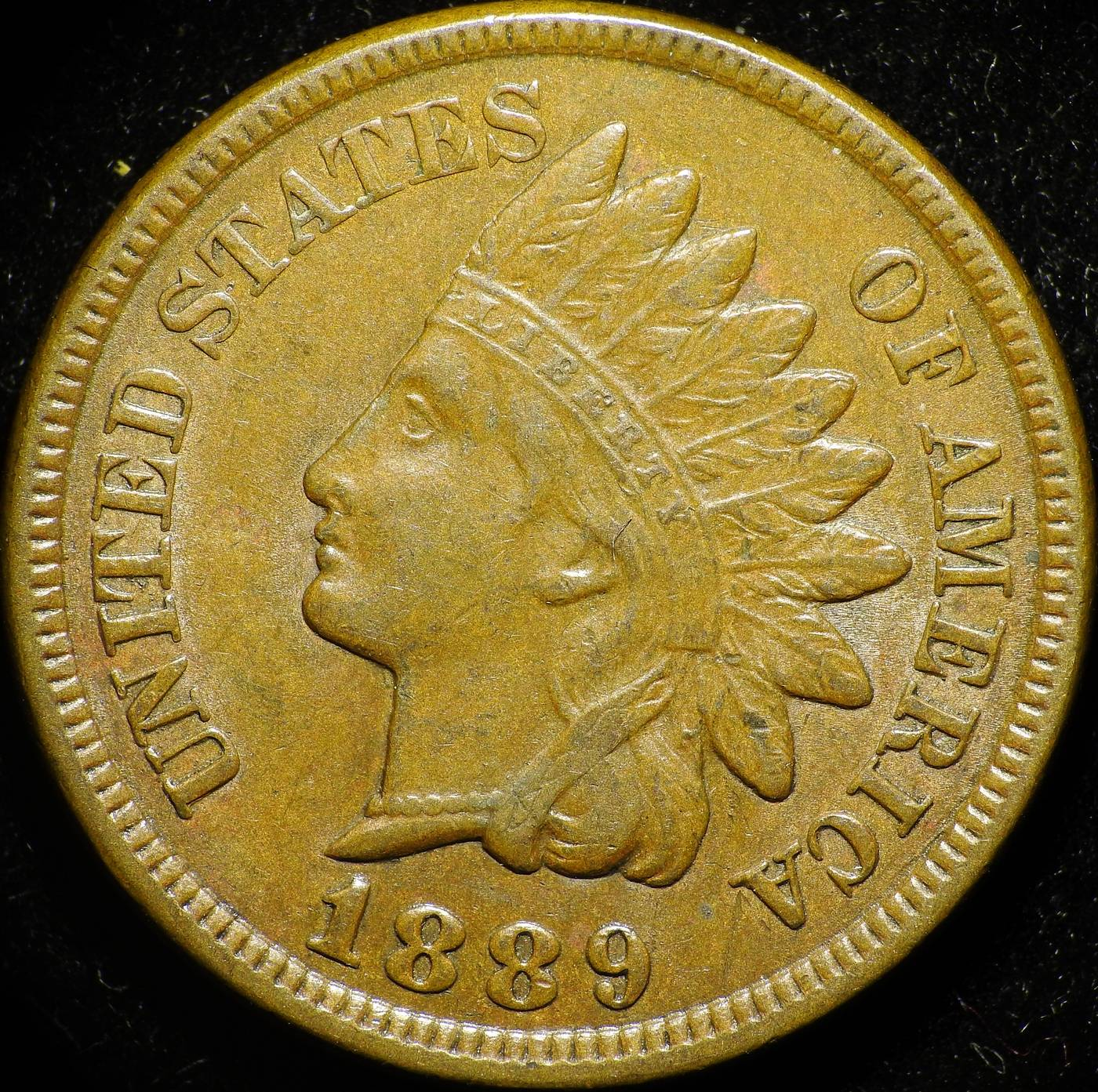1889 Obverse of OCC-001 - Indian Head Penny