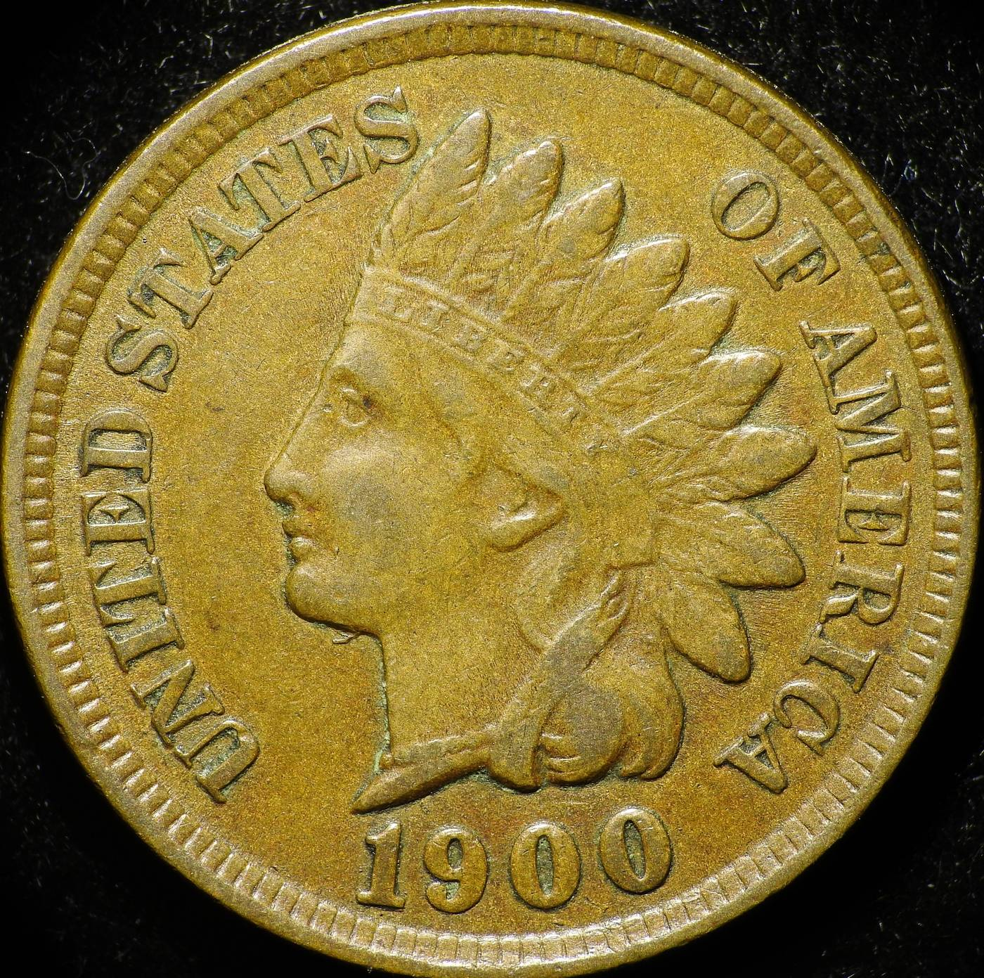 1900 ODD-001, RPD-012 - Indian Head Penny