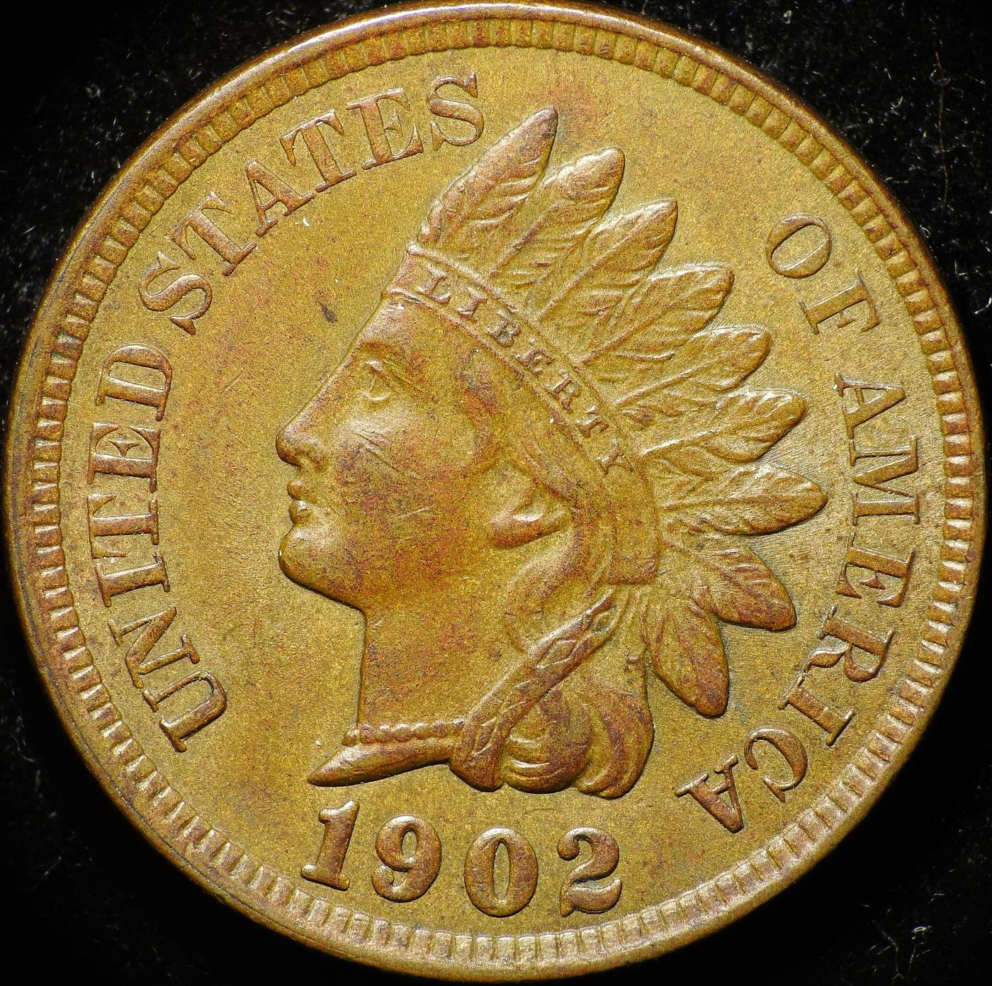 1902 RPD-012 - Indian Head Penny