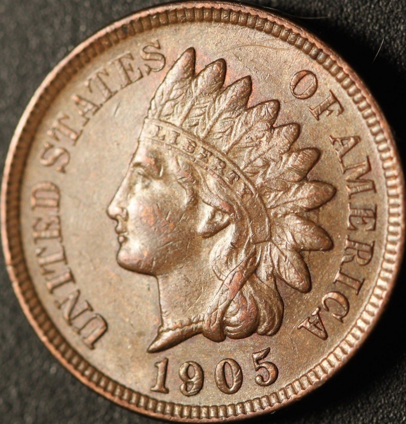 1905 RPD-006 - Indian Head Cent - Photo by Ed Nathanson