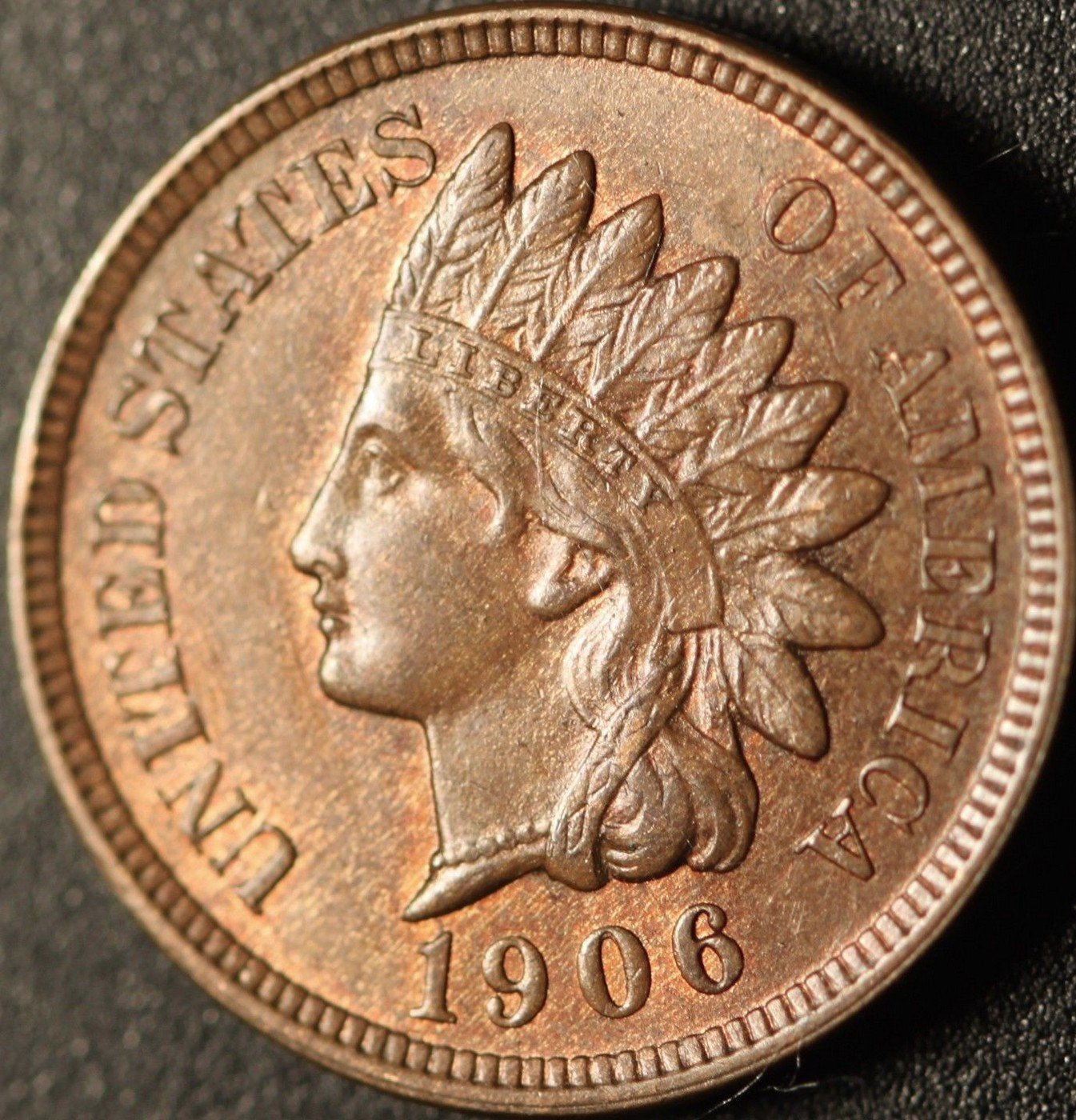 1906 MPD-002, RPD-014 - Indian Head Cent - Photo by Ed Nathanson