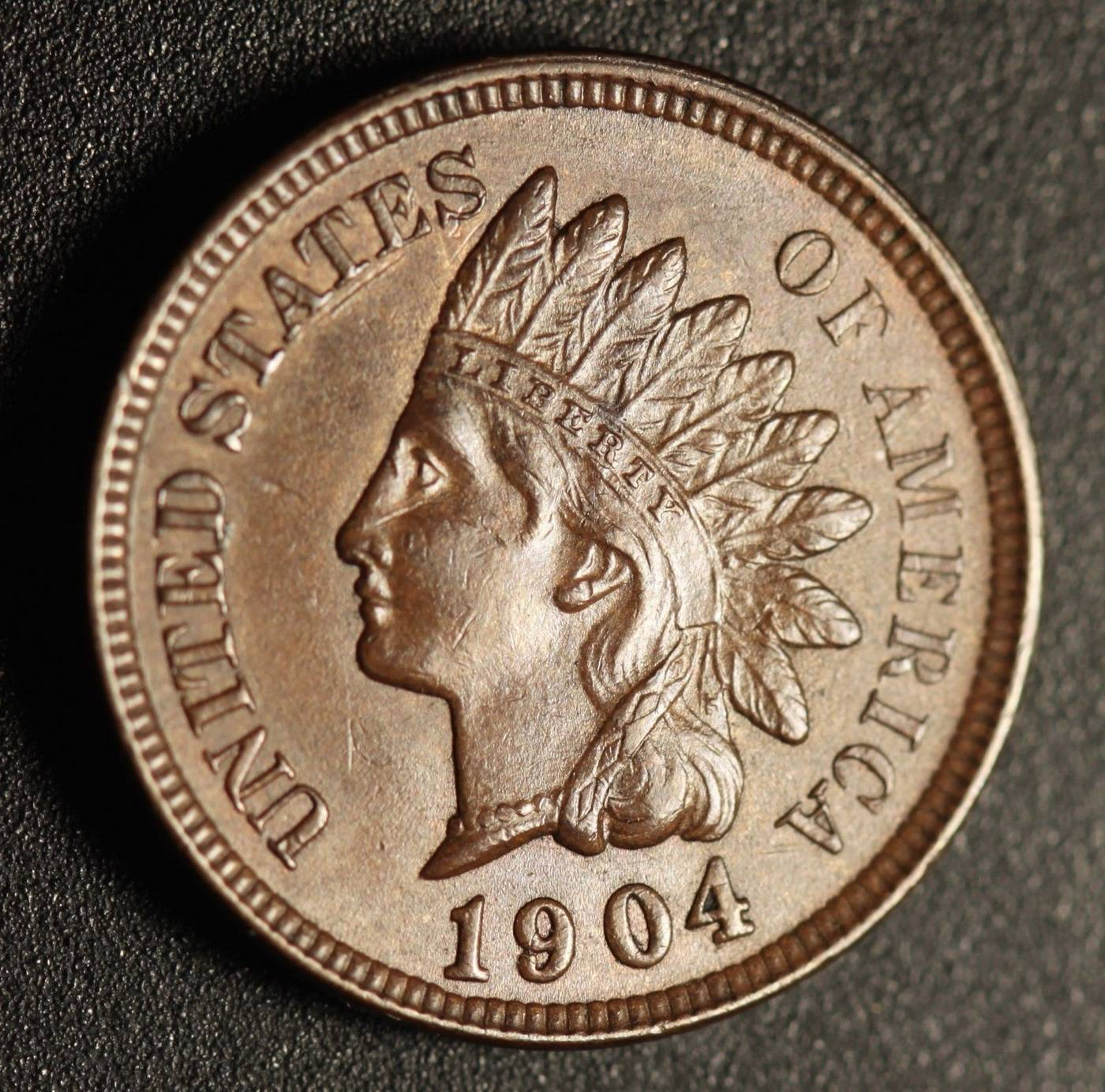 1904 RPD-015 - Indian Head Penny - Photo by Ed Nathanson