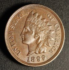 1899 RPD-019 - Indian Head Penny - Photo by Ed Nathanson