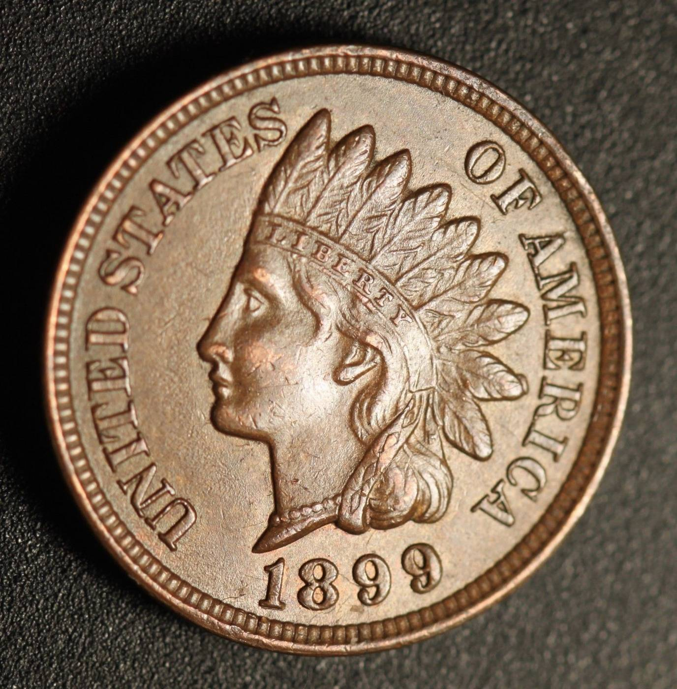1899 RPD-035 - Indian Head Penny - Photo by Ed Nathanson