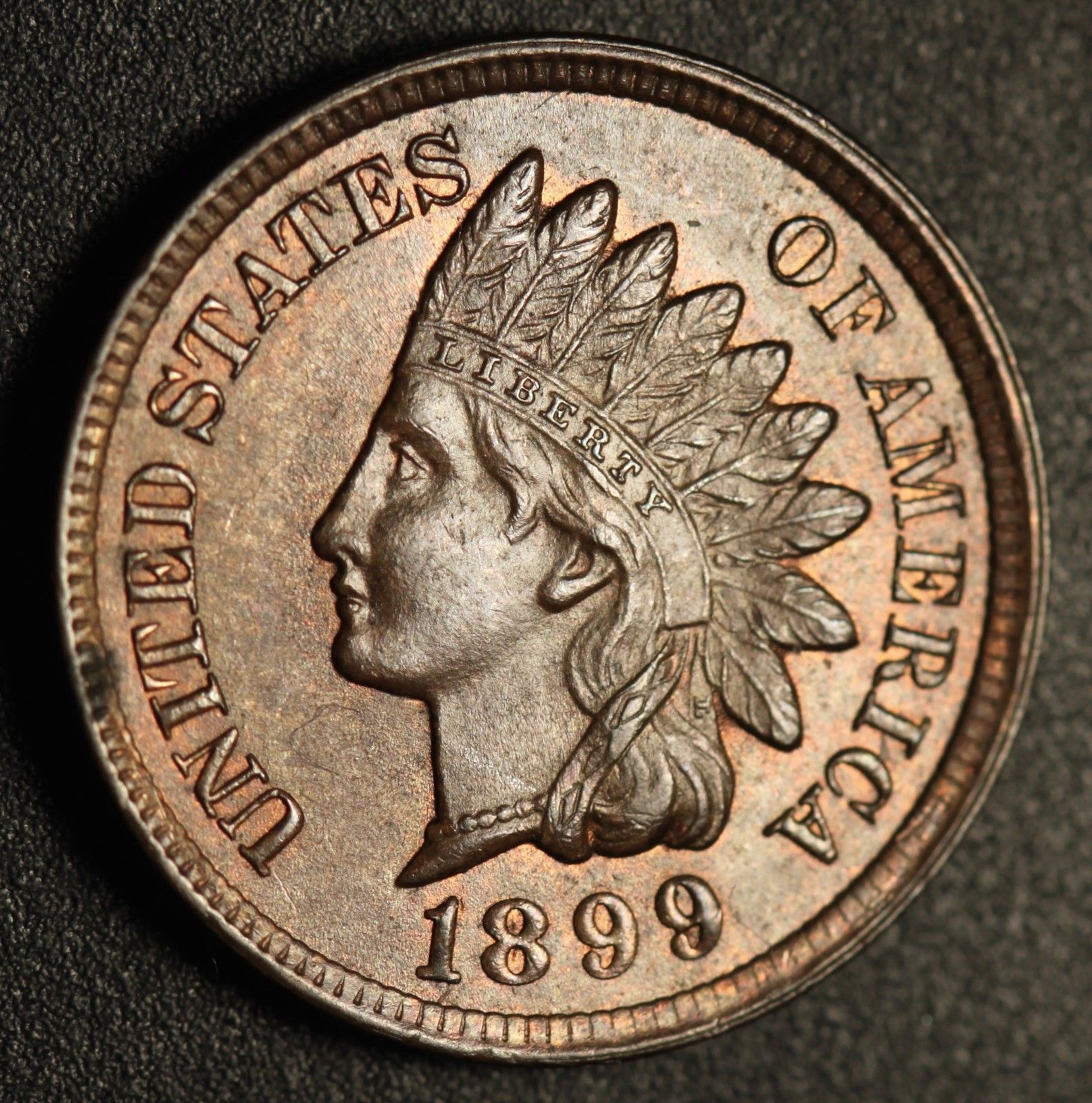 1899 RPD-025 - Indian Head Penny - Photo by Ed Nathanson