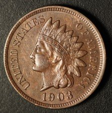 1903 RPD-017 - Indian Head Penny - Photo by Ed Nathanson