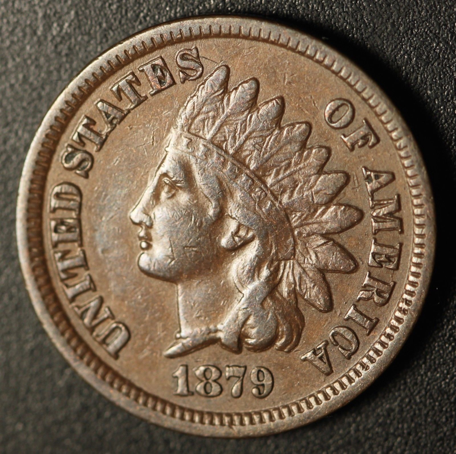 1879 RPD-004 - Indian Head Penny - Photo by Ed Nathanson