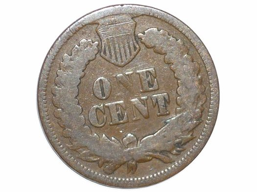 1868 CUD-002 - Indian Head Penny - Photo by David Poliquin