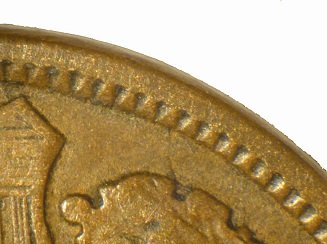 1868 CUD-003 - Indian Head Penny - Photo by David Poliquin