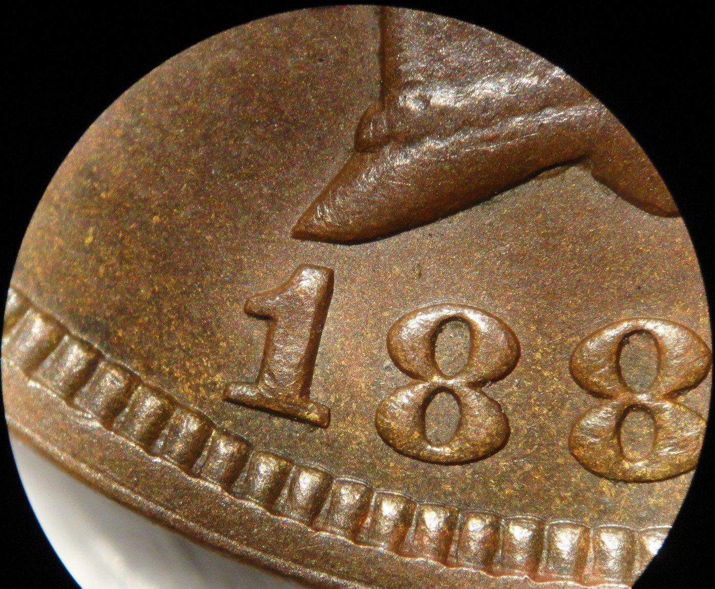 1888 MPD-020 - Indian Head Penny