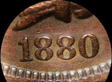 1880 PUN-012 - Indian Head Penny