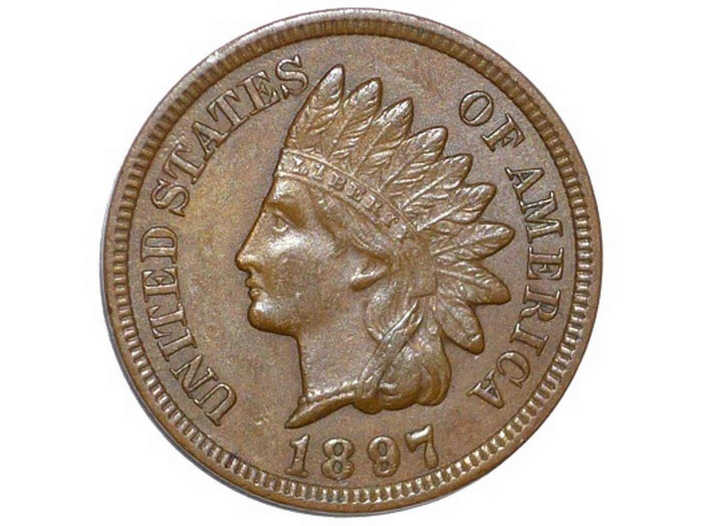 1897 RPD-021 - Indian Head Penny - Photo by David Poliquin