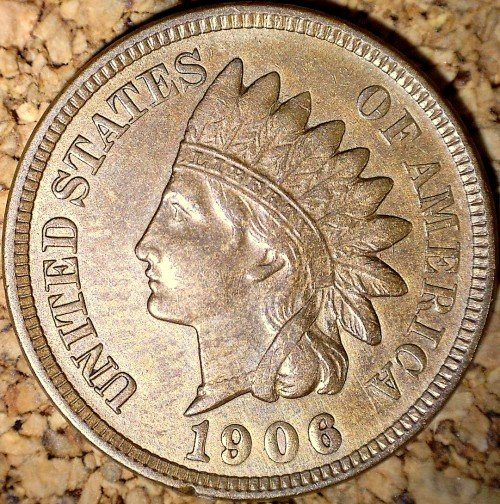 1906 RPD-051 - Indian Head Penny - Photo by David Killough