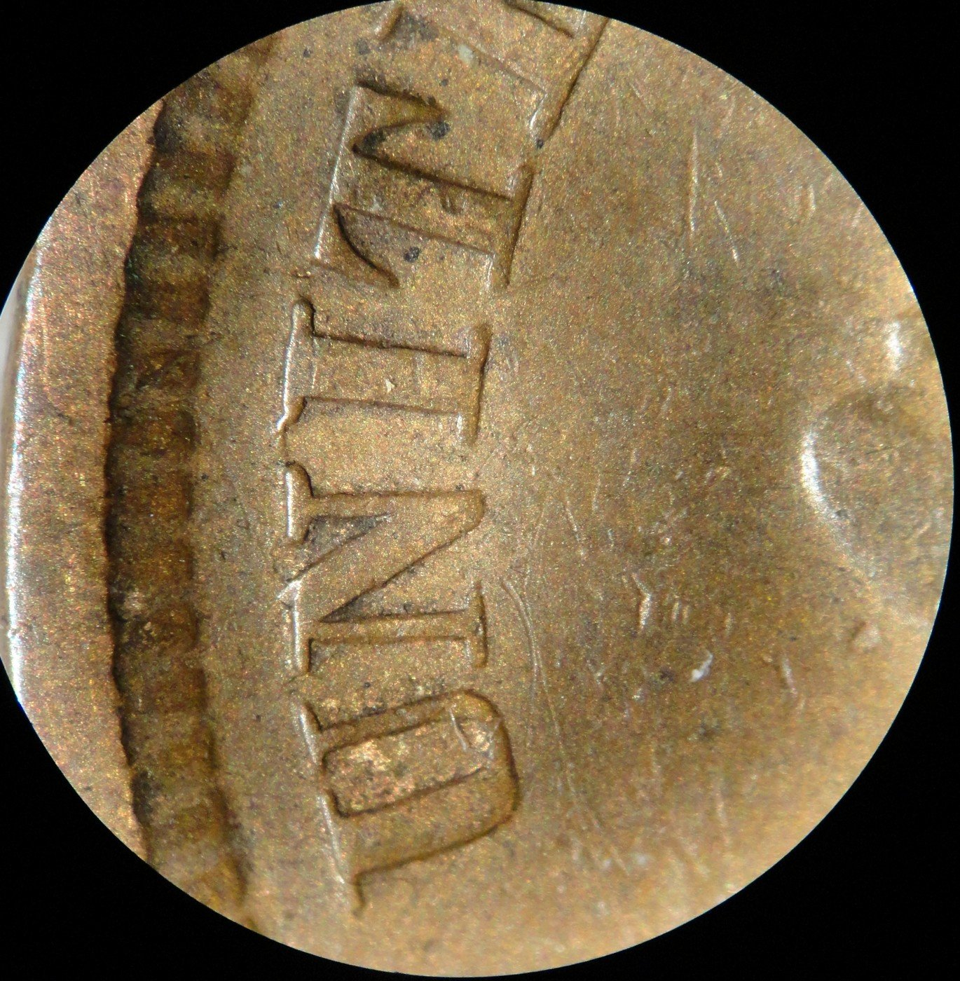 1864 No-L CRK-004 - Indian Head Penny