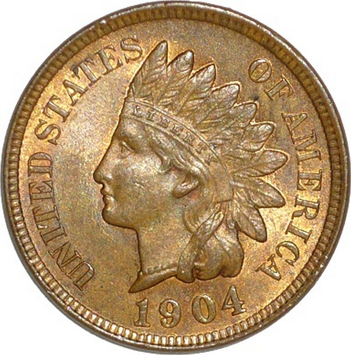 1904 RPD-017 - Indian Head Penny - Photo by David Poliquin