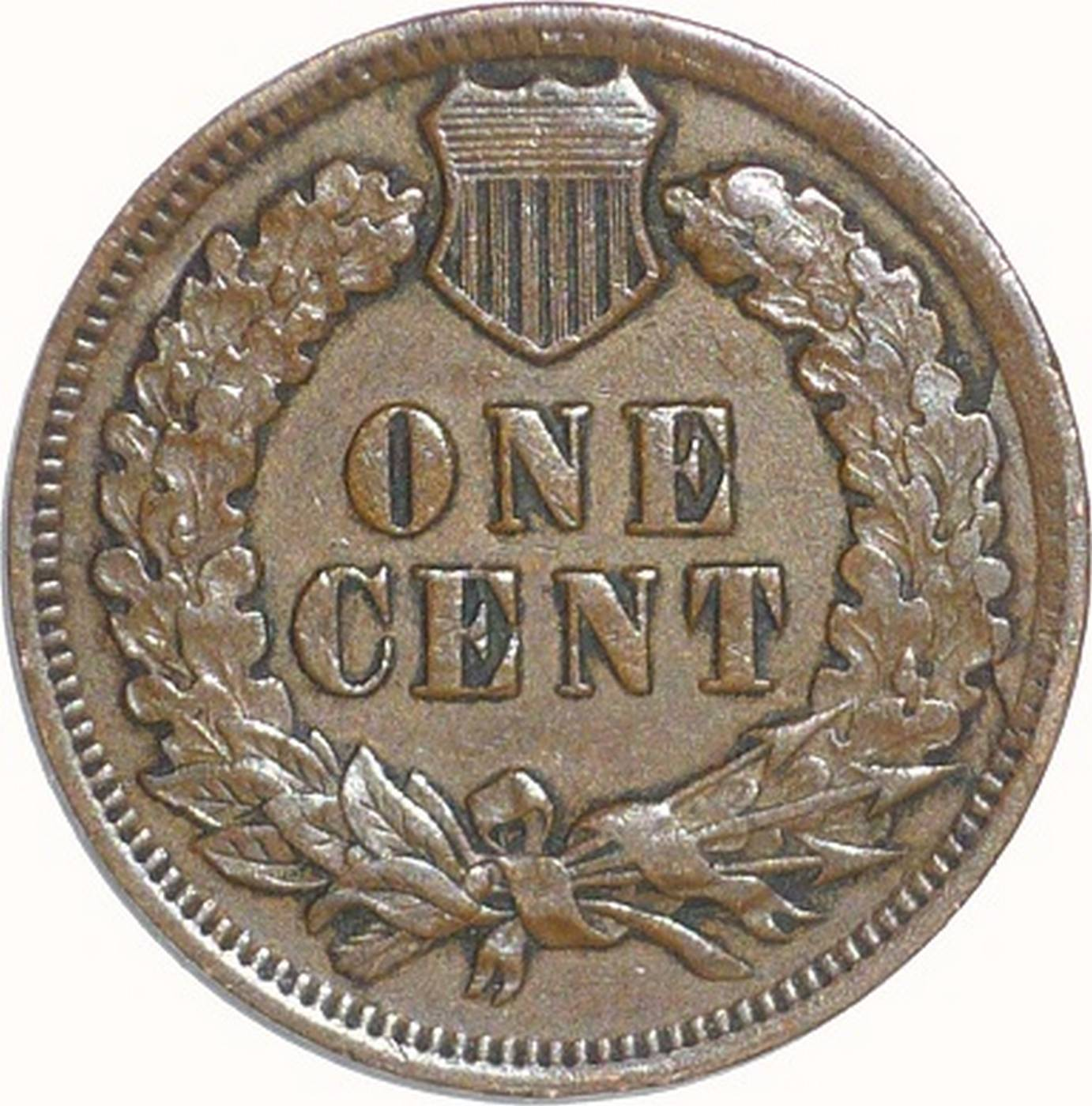 1902 CUD-001 - Indian Head Penny - Photo by David Poliquin