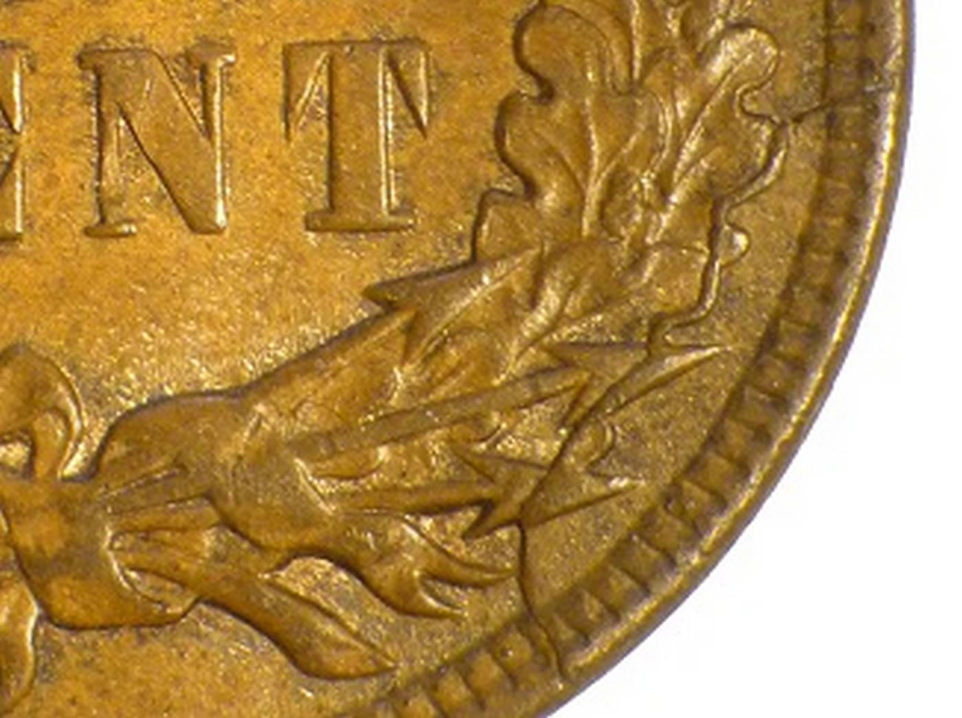 1907 CUD-002 - Indian Head Penny - Photo by David Poliquin