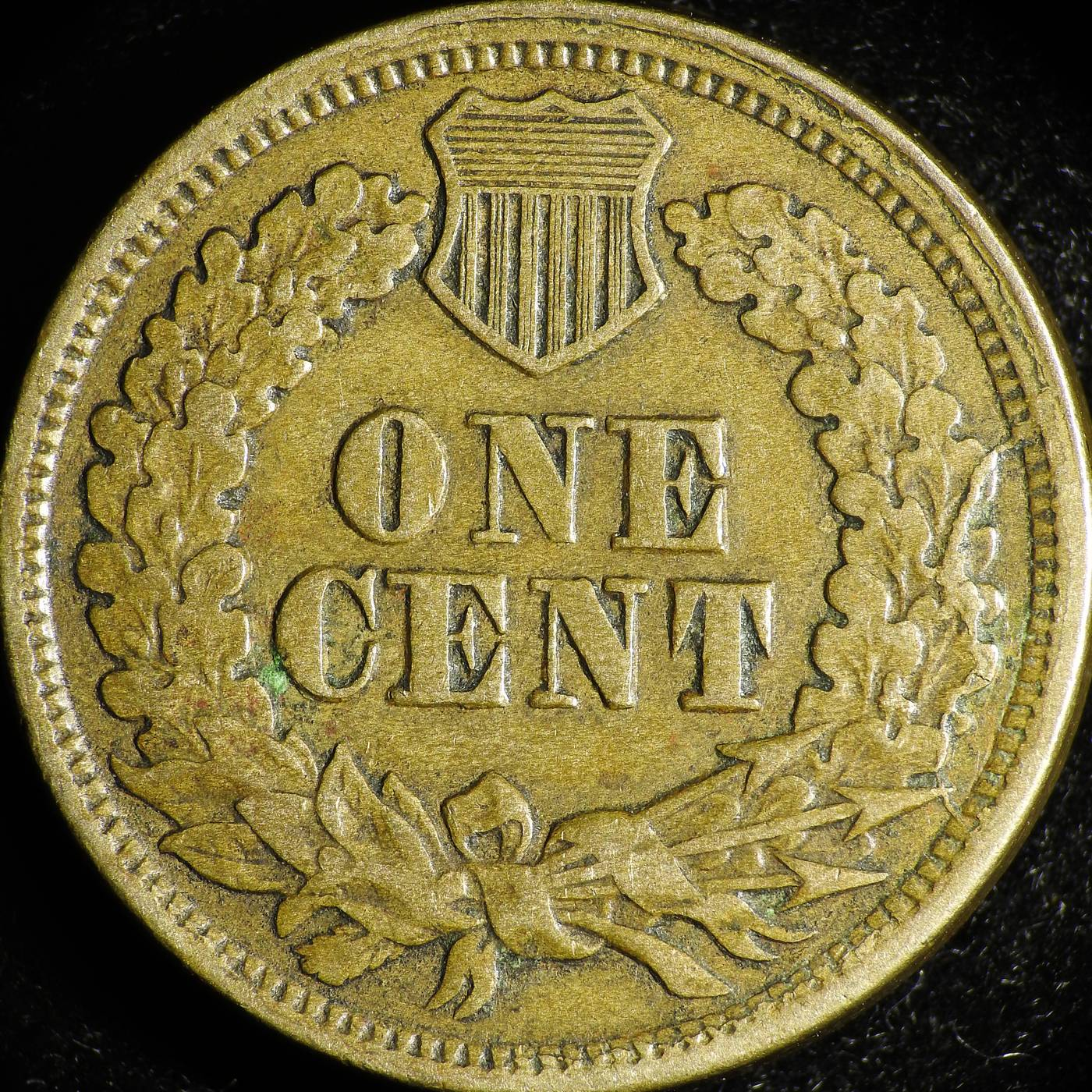 1863 CUD-032 - Indian Head Penny