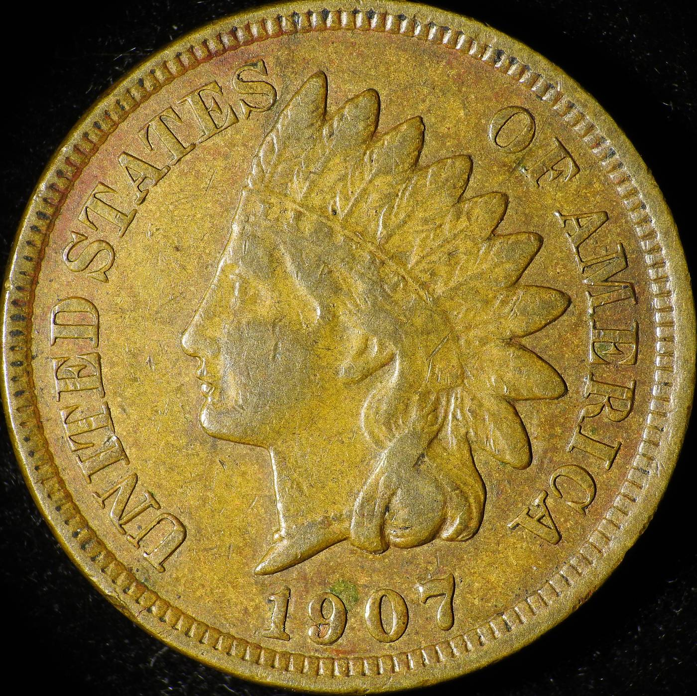 1907 RPD-056 - Indian Head Penny