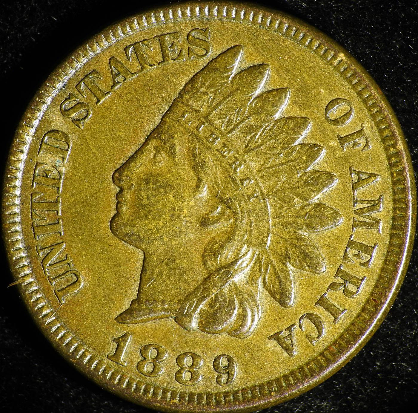 1889 RPD-037 - Indian Head Penny