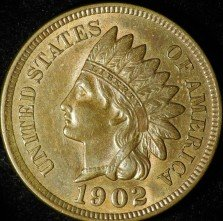 1902 ODD-004 - Indian Head Penny