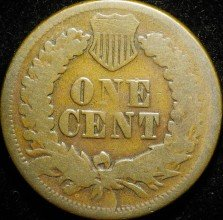 1866 CUD-007 - Indian Head Penny