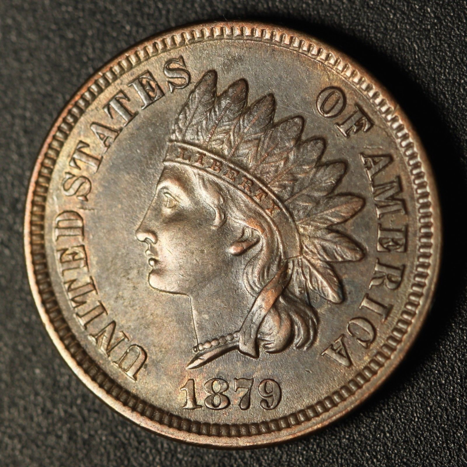 1879 RPD-005 - Indian Head Penny - Photo by Ed Nathanson