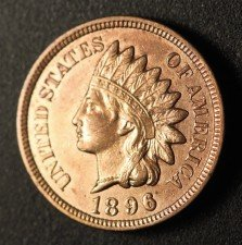 1896 RPD-022 - Indian Head Penny - Photo by Ed Nathanson