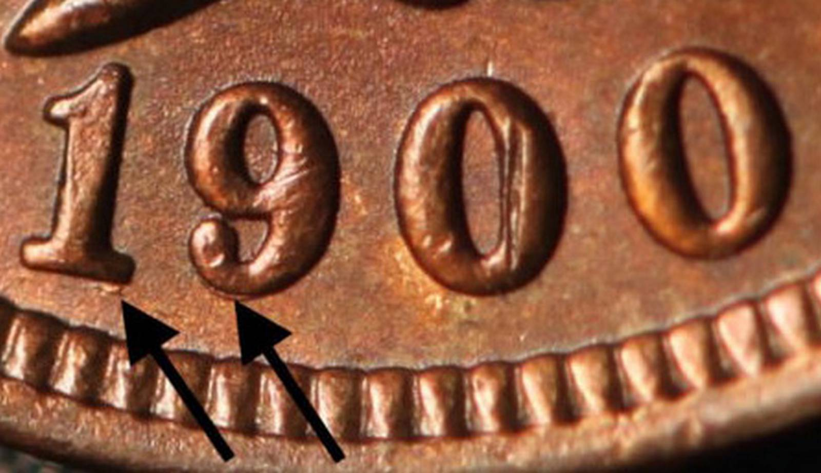 1900 RPD-028 - Indian Head Penny - Photo by Ed Nathanson
