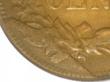 1869 CUD-005 - Indian Head Penny - Photo by David Poliquin