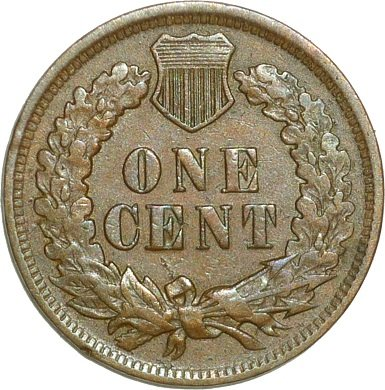 Reverse of 1898 RPD-032 - Indian Head Penny - Photo by David Poliquin