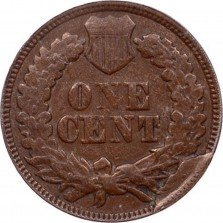 1870 CUD-002 - Indian Head Penny - Photo by David Poliquin