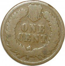 1875 ODD-003 - Indian Head Penny - Photo by David Poliquin