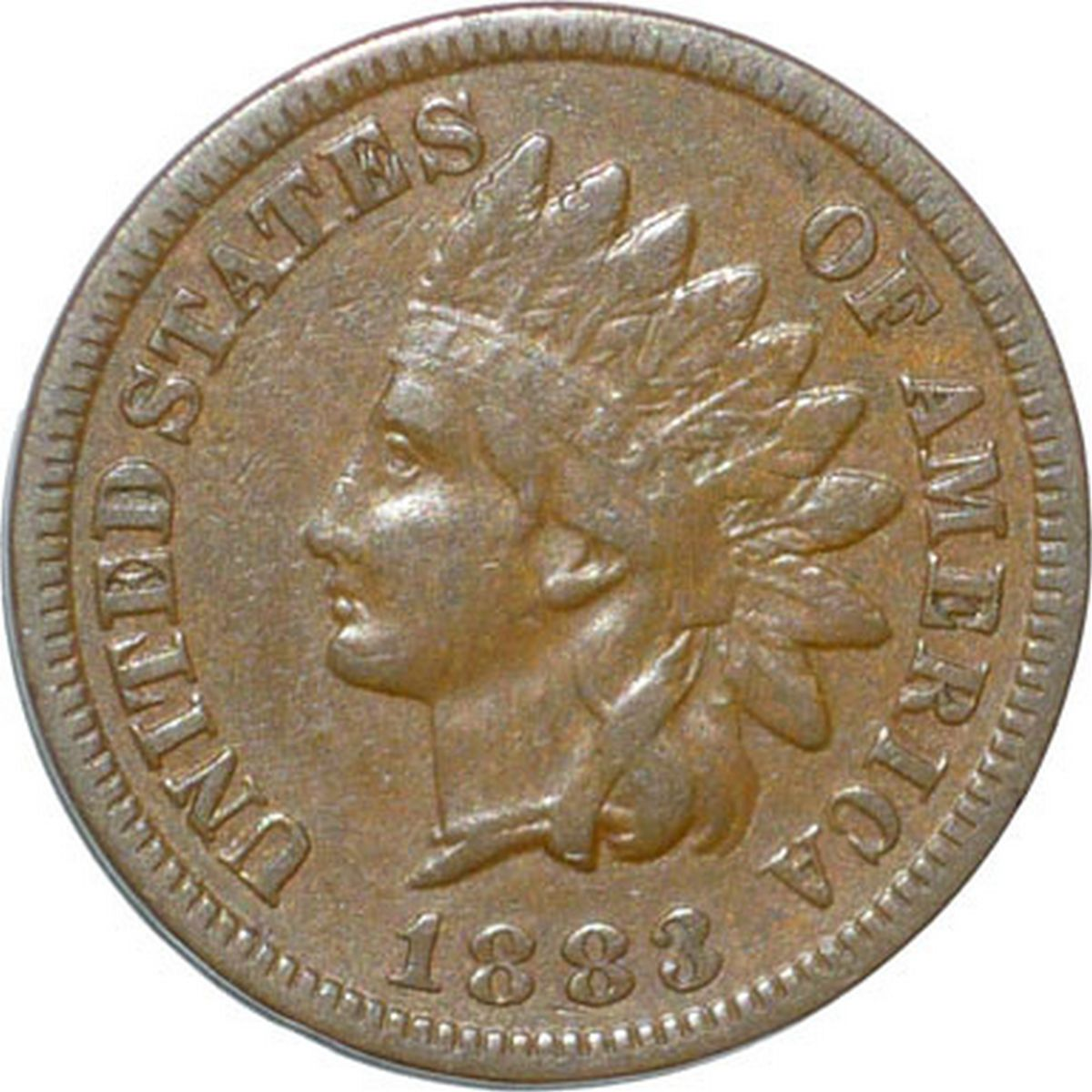 1883 MPD-009 - Indian Head Penny - Photo by David Poliquin