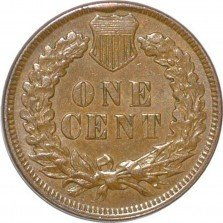 1896 CUD-001 - Indian Head Penny - Photo by David Poliquin