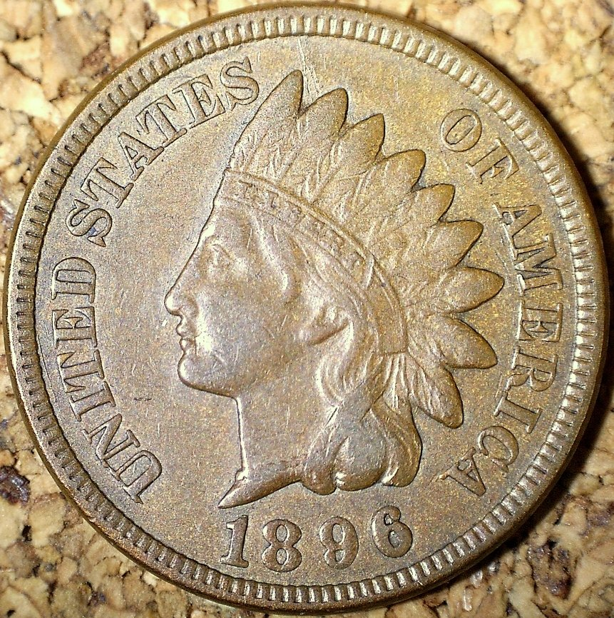 1896 RPD-027 - Indian Head Penny - Photo by David Killough