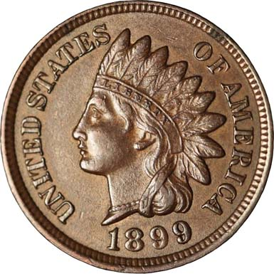 1899 RPD-039 - Indian Head Penny - Photo by Ed Nathanson