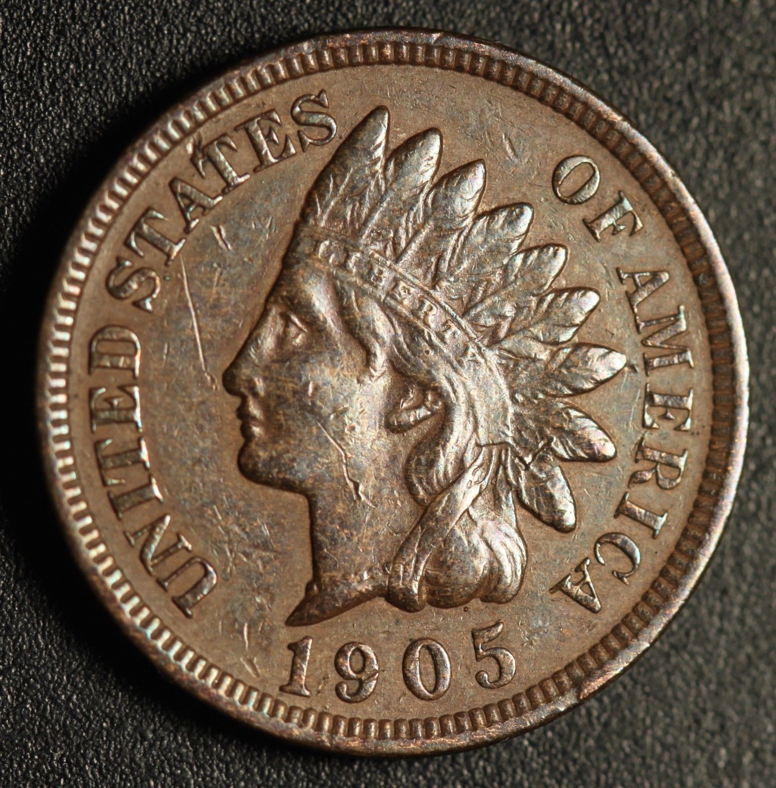 1905 RPD-029 - Indian Head Penny - Photo by Ed Nathanson