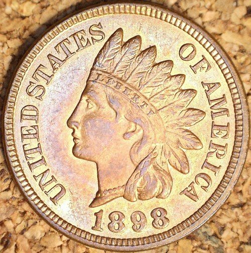 1898 RPD-034 - Indian Head Penny - Photo by David Killough