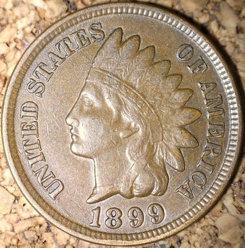 1899 RPD-040 - Indian Head Penny - Photo by David Killough